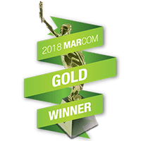 2018 Marcom Awards GOLD